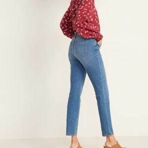 NWT Old Navy power straight jeans size 10